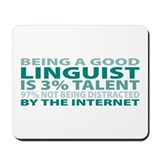 Good Linguist Mousepad