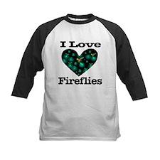 I Love Fireflies Midnight Hea Tee