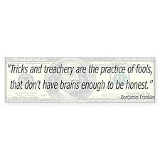 Franklin Quote Bumper Sticker ( 10 pk)