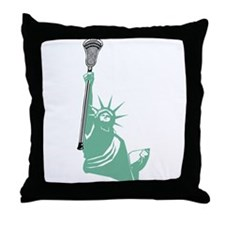 Lacrosse Liberty Throw Pillow