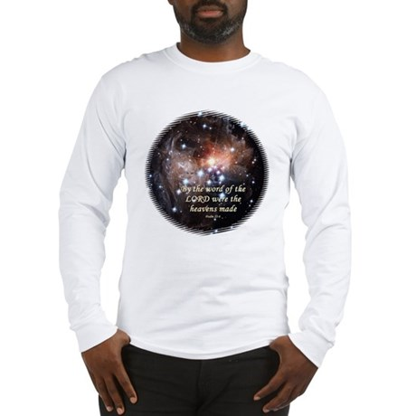 Psalm 33:6 Long Sleeve T-Shirt