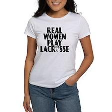 Lacrosse RealWomen Tee