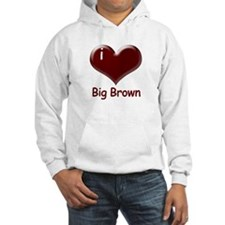 I heart Big Brown Hoodie
