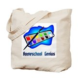 Homeschool Genius Paints Tote Bag