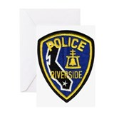 Riverside PD Greeting Card