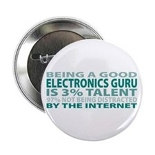 "Good Electronics Guru 2.25"" Button"