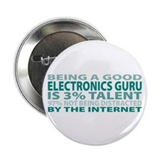 "Good Electronics Guru 2.25"" Button (10 pack)"