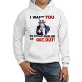 Speak English Jumper Hoody