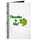 Dissection Is Icky: Frog Journal