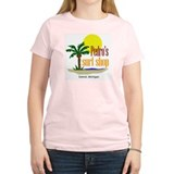 Pedro Surf Women's Pink T-Shirt