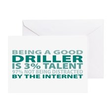 Good Driller Greeting Card