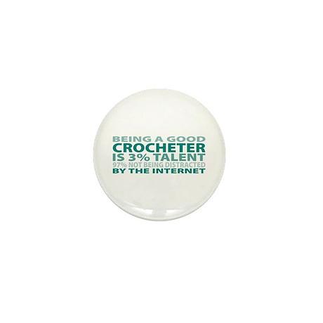Good Crocheter Mini Button (100 pack)
