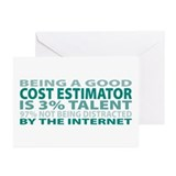 Good Cost Estimator Greeting Cards (Pk of 20)