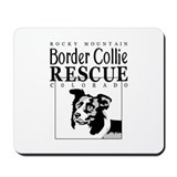 Rocky Mountain Border Collie  Mousepad