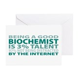 Good Biochemist Greeting Cards (Pk of 20)