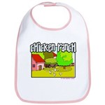 Chicken Ranch Farm Texas Bib
