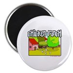 Chicken Ranch Farm Texas Magnet