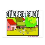 Chicken Ranch Farm Texas Postcards (Package of 8)