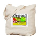 Chicken Ranch Farm Texas Tote Bag