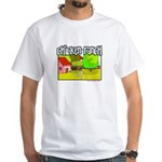 Chicken Ranch Farm Texas White T-Shirt