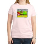 Chicken Ranch Farm Texas Women's Pink T-Shirt