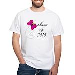 Class Of 2015 White T-Shirt