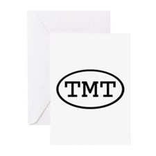 TMT Oval Greeting Cards (Pk of 20)