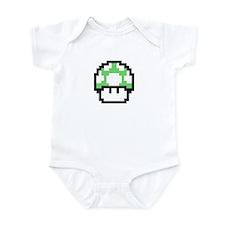 1up Mushroom Infant Bodysuit