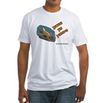 Beware The Platypus Fitted T-Shirt