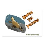 Beware The Platypus Postcards (Package of 8)