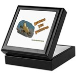 Beware The Platypus Keepsake Box