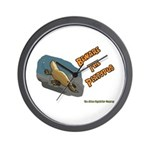 Beware The Platypus Wall Clock