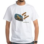 Beware The Platypus White T-Shirt