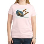 Beware The Platypus Women's Pink T-Shirt