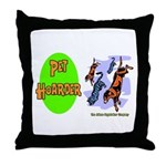 Pet Hoarder Throw Pillow