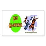Pet Hoarder Rectangle Sticker