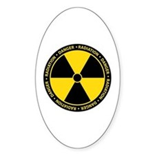 Radiation Warning Decal