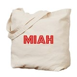 Retro Miah (Red) Tote Bag