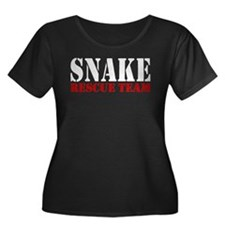 Snake Rescue Team Women's Plus Size Scoop Neck Dar