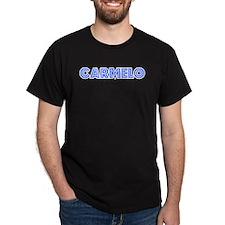 Retro Carmelo (Blue) T-Shirt
