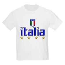 Italia t-shirts 4 Star Italia Soccer T-Shirt