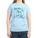 Baton Twirler Mom T-Shirt
