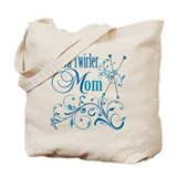 Baton Twirler Mom Tote Bag