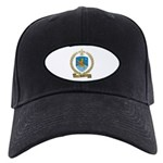 BARIL Family Crest Black Cap