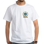 BARIL Family Crest White T-Shirt