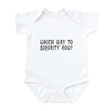 SORORITY ROW Infant Bodysuit