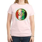 Iraq Veteran (Front) Women's Pink T-Shirt
