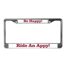 Cute Horse sports License Plate Frame
