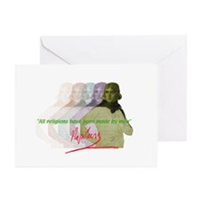 Napoleon quote Greeting Cards (Pk of 10)