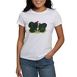 Black Frizzle Cochins Women's T-Shirt